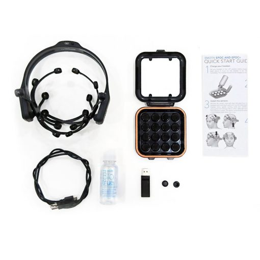 advanced hardware eeg sensor data headset EPOC plus 14 channel wireless kit