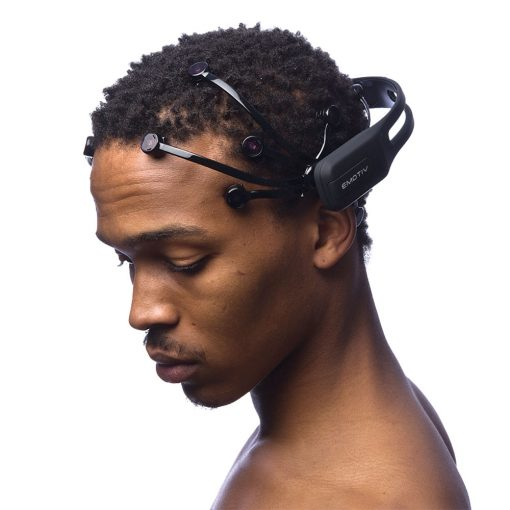 advanced hardware eeg sensor data headset EPOC plus 14 channel wireless man