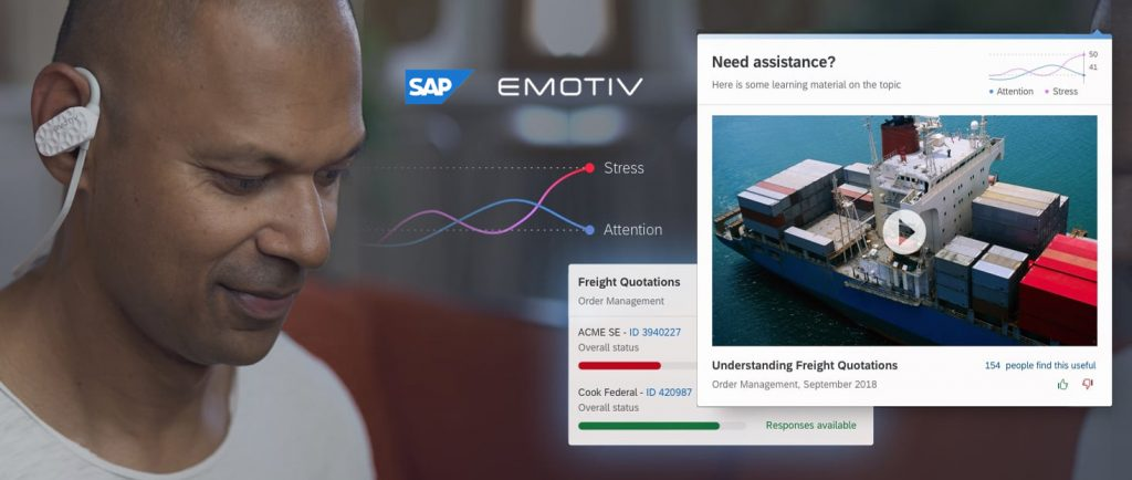 SAP - EMOTIV collaboration