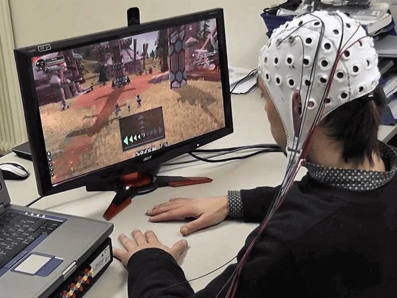 BCI gaming World of Warcraft