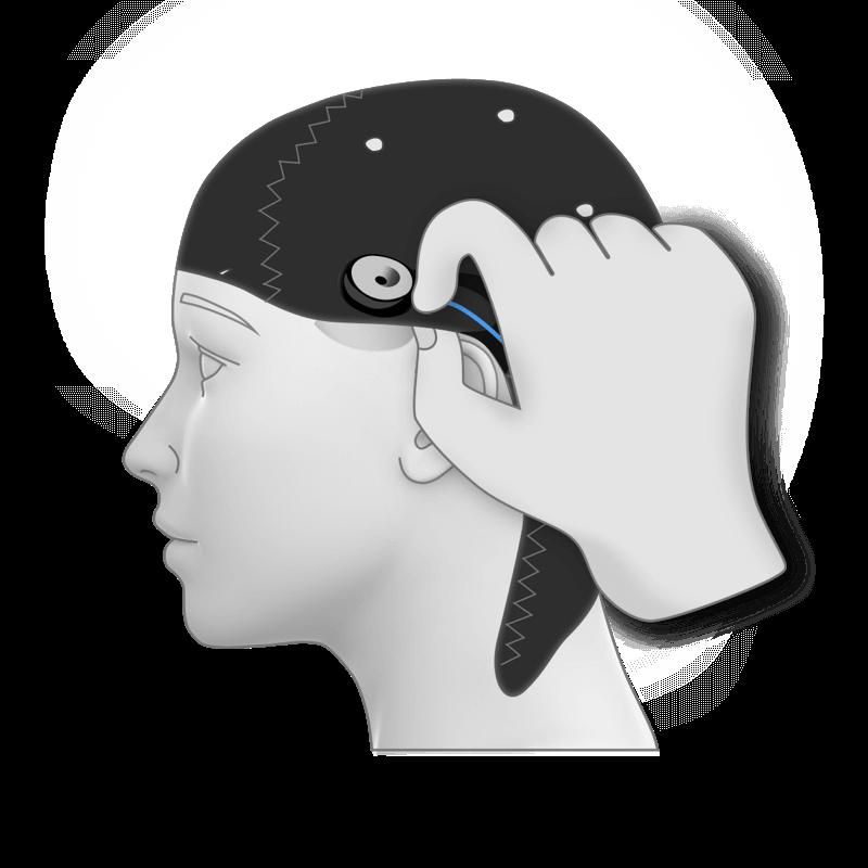 Eeg epoc Flex cap device electrode hardware headset product saline guide