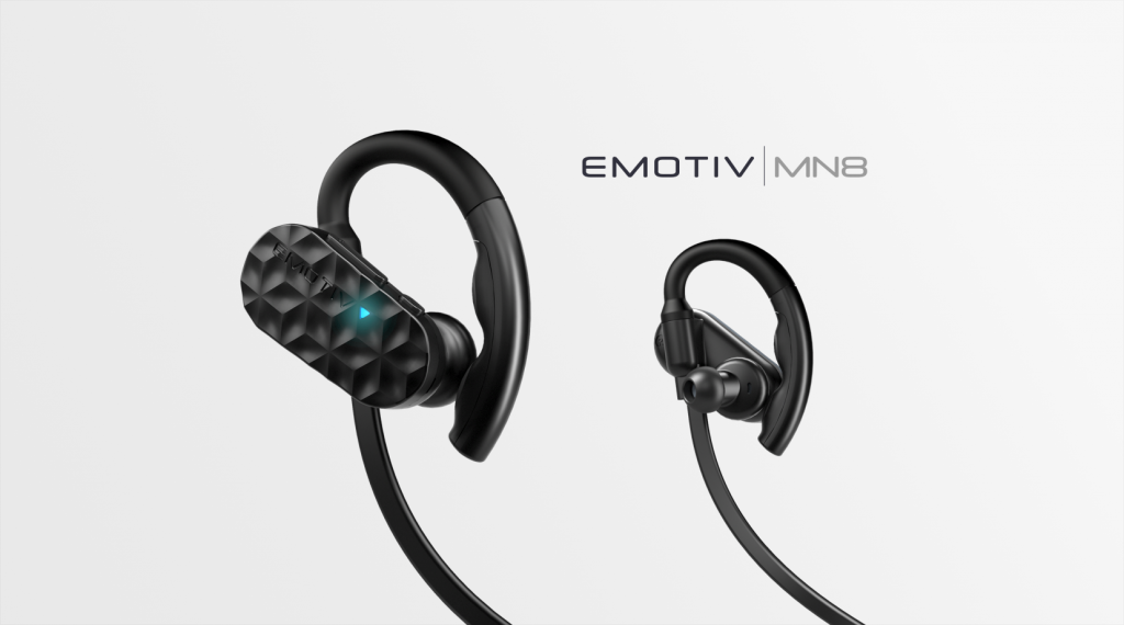 emotiv mn8 headset technology earbuds workplace wellness safety productivity stress eeg sensors audio
