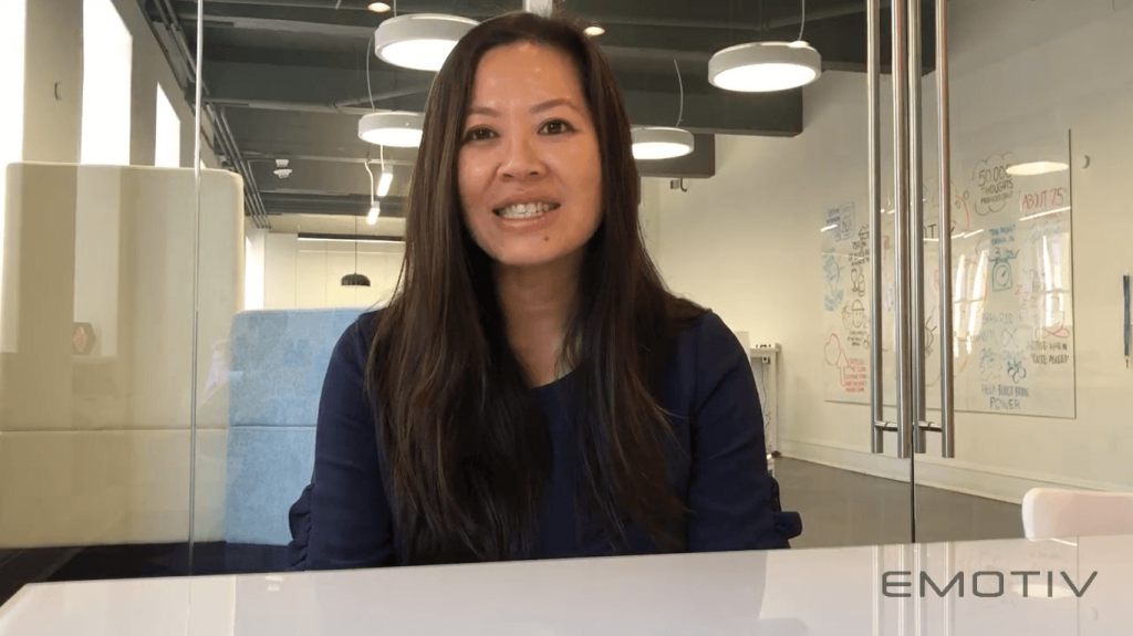 EMOTIV CEO Tan Le introducing the brand new EPOC X Mobile EEG Headset