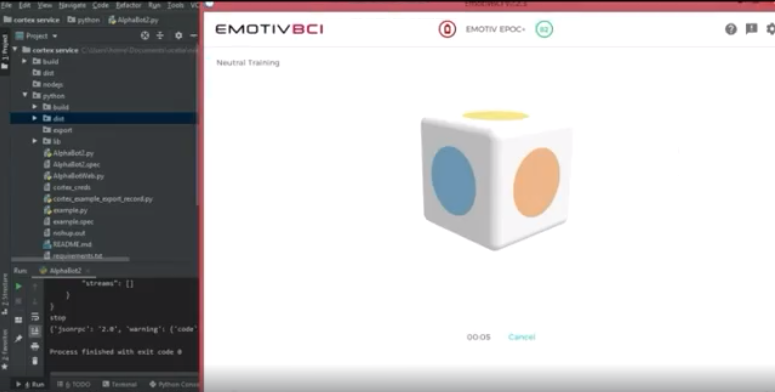 EMOTIV BCI Application